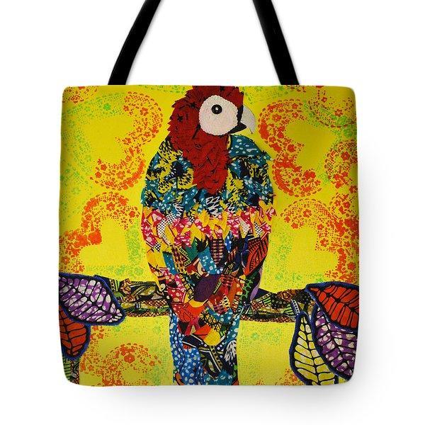 Parrot Oshun Tote Bag