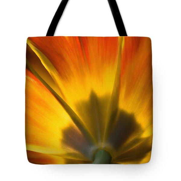 Parrot Tulip - D008405 Tote Bag by Daniel Dempster