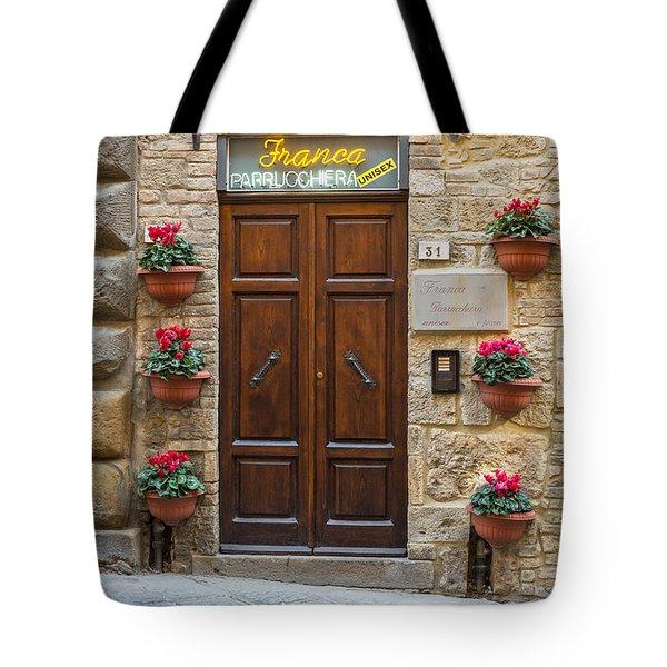 Parrucchiera Tote Bag