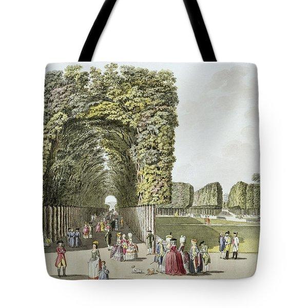 Part Of The Garden At Ausgarten Tote Bag by Johann Ziegler
