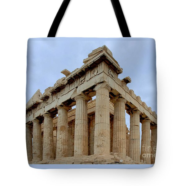Parthenon Corner Tote Bag