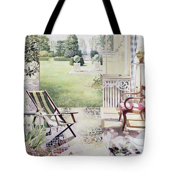 Partie De Campagne Tote Bag by Jeremy Annett