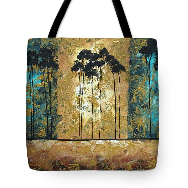 Parting Of Ways By Madart Tote Bag by Megan Duncanson