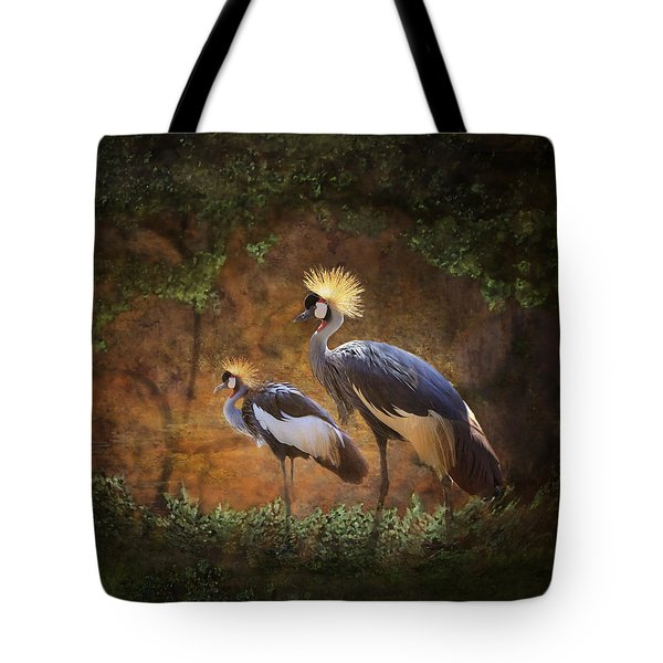 Partners In Paradise Tote Bag