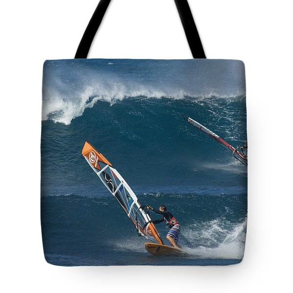 Partners In The Extreme Tote Bag by Bob Christopher