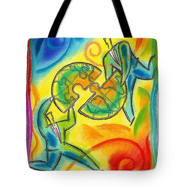 Partnership Tote Bag by Leon Zernitsky