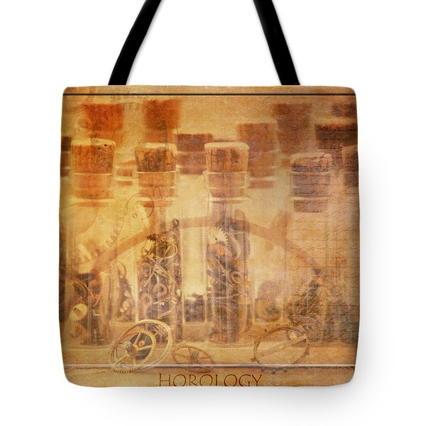 Parts Of Time Tote Bag