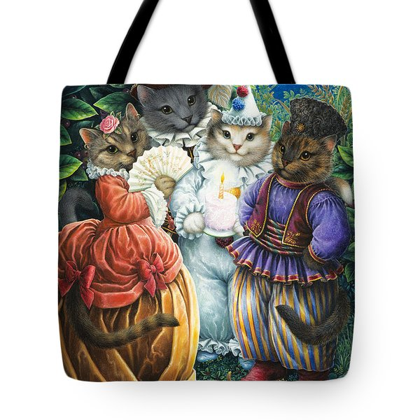Party Cats Tote Bag