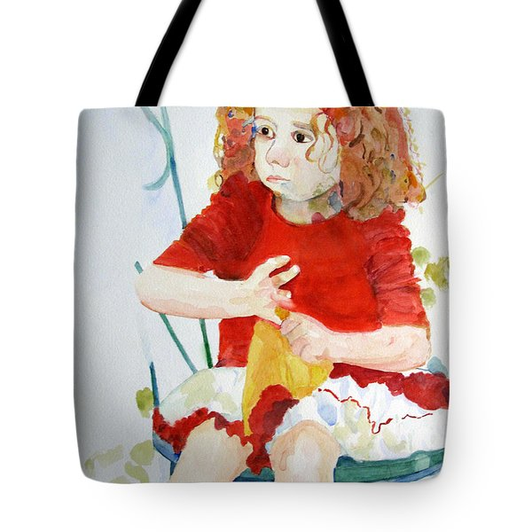Party Girl Tote Bag by Sandy McIntire