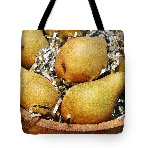 Party Pears Tote Bag by Andee Design