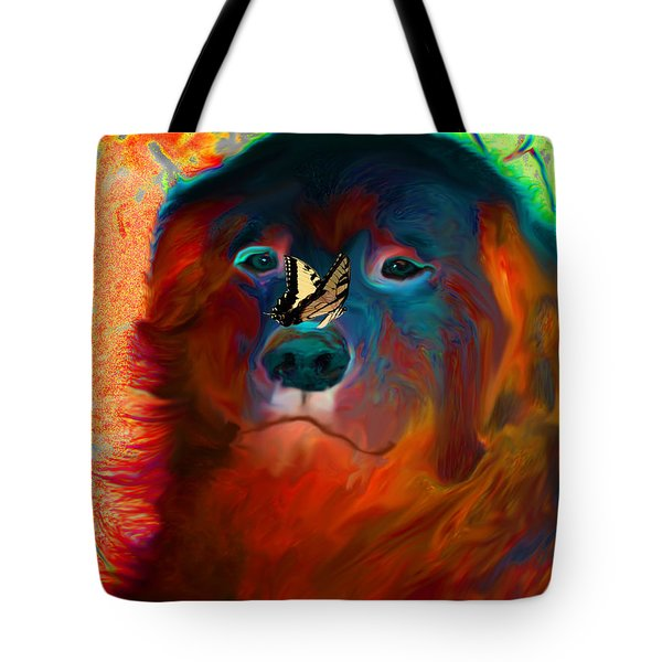 Party Pyrenees Tote Bag