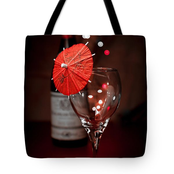 Party Time Still Life Tote Bag