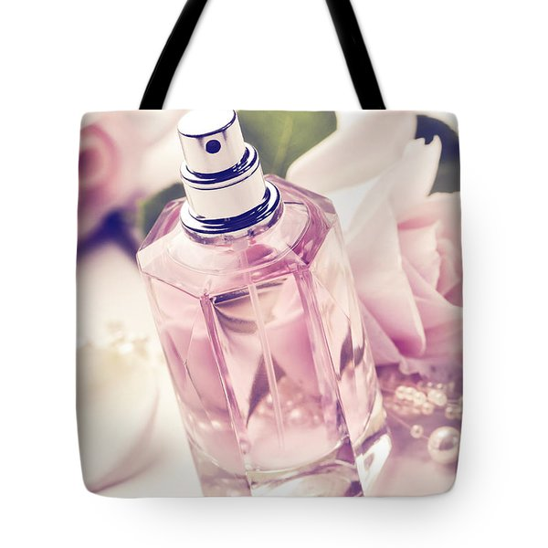 Parume Bottle Tote Bag