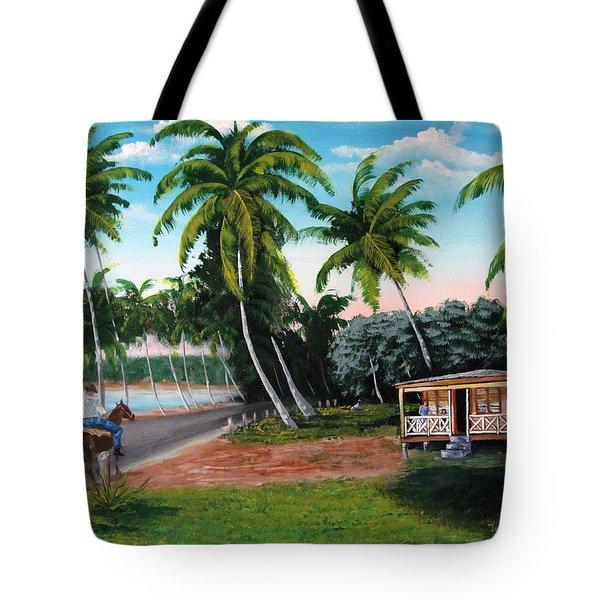 Paseo Por La Isla Tote Bag
