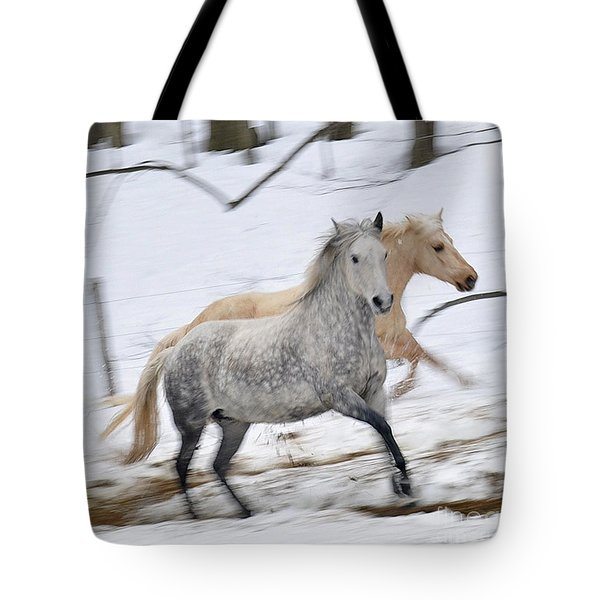 Paso Fino Mares Take Flight Tote Bag by Patricia Keller