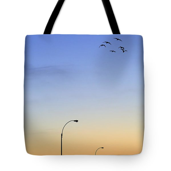 Passage Into Dawn Tote Bag
