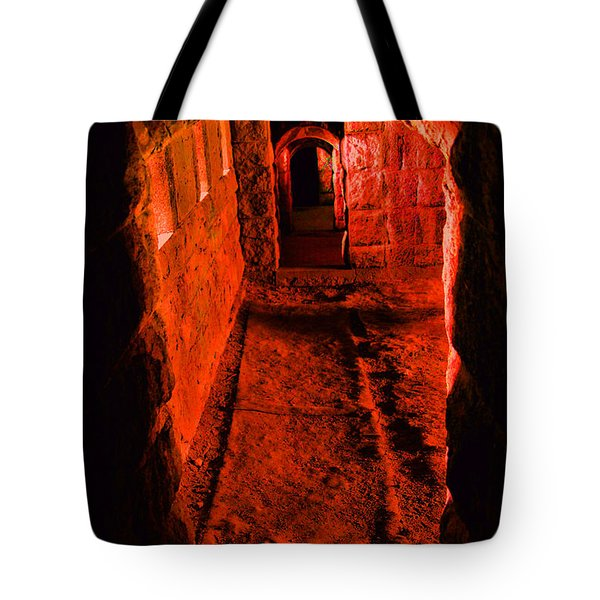 Passage To Hell Tote Bag by Karol Livote
