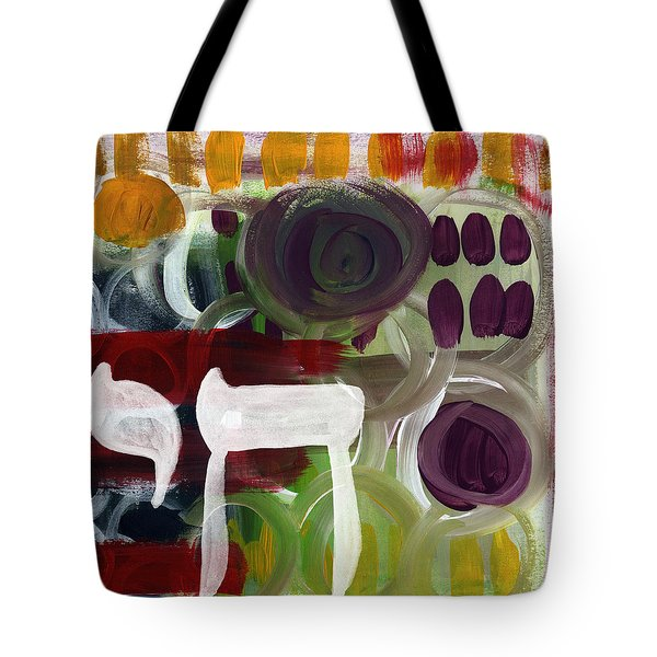 Passages- Abstract Painting Tote Bag