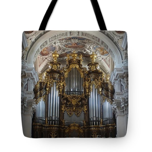 Passau Cathedral Saint Stephan 2 Tote Bag