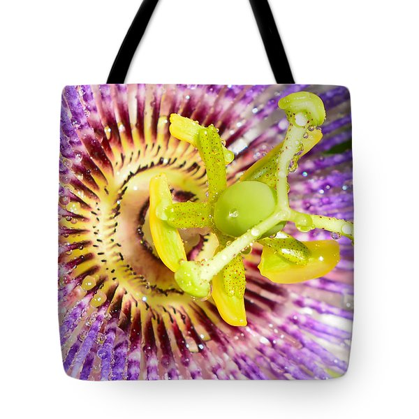 Passiflora The Passion Flower Tote Bag