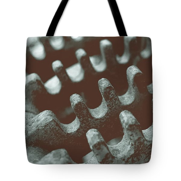 Tote Bag featuring the photograph Passing Gears by Steven Milner