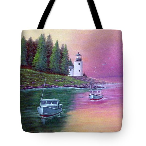 Passing The Light Tote Bag