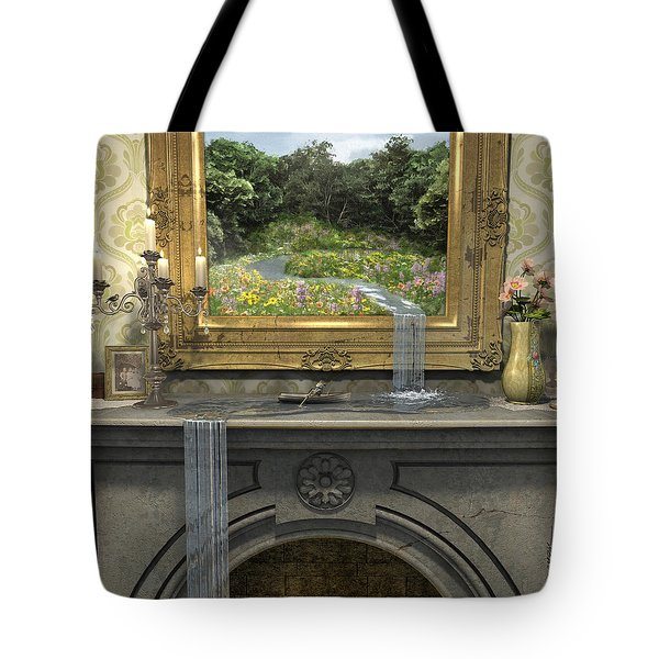 Passing Through Tote Bag by Cynthia Decker