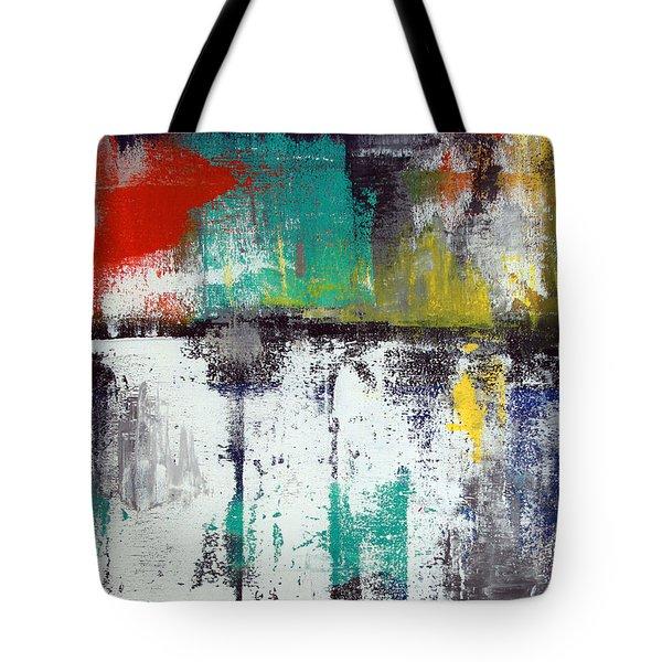 Passing Through Tote Bag by Linda Woods