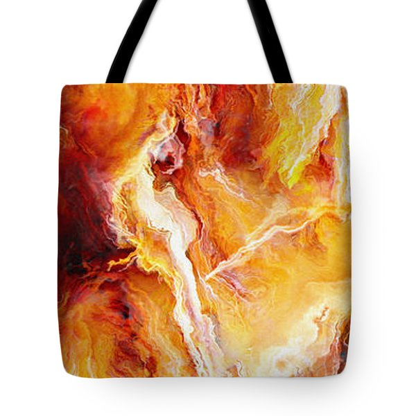 Passion - Abstract Art Tote Bag by Jaison Cianelli