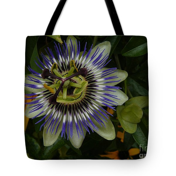 Tote Bag featuring the photograph Passion Flower by Jane Ford