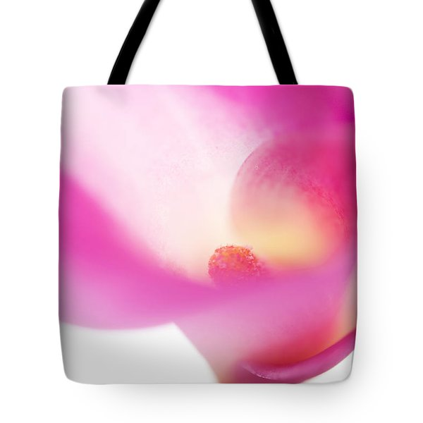 Passion For Flowers. Pink Veil Tote Bag