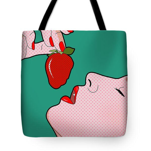 Passion Fruit   Tote Bag by Mark Ashkenazi