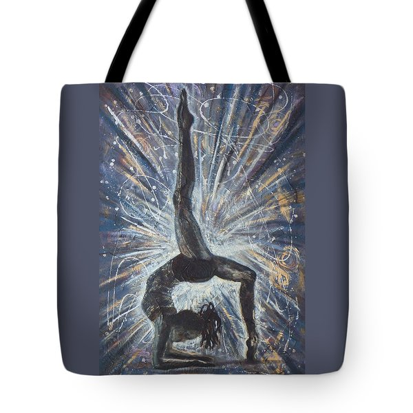 Tote Bag featuring the mixed media Passion by Gigi Dequanne