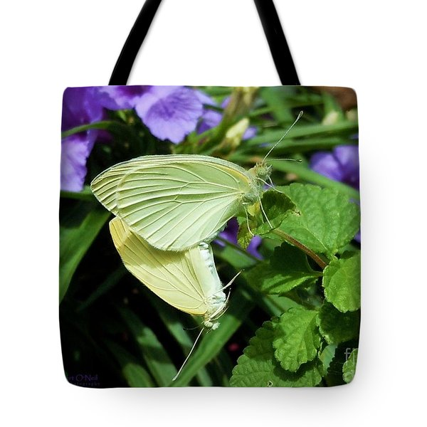 Passion Of The Butterflies Tote Bag