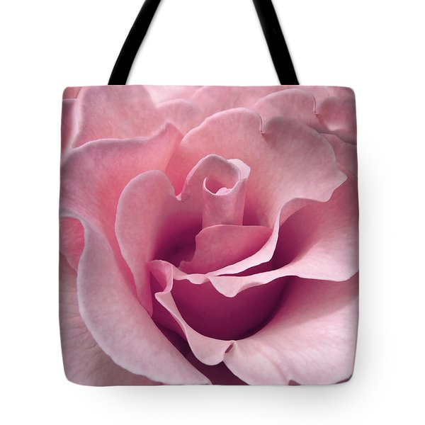 Passion Pink Rose Flower Tote Bag