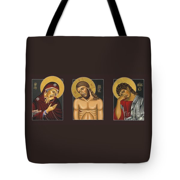 Passion Triptych Tote Bag