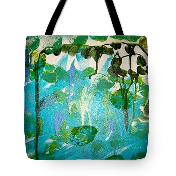 Passion Vine Tote Bag