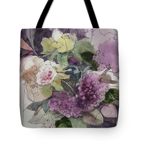 Passionate About Purple Tote Bag