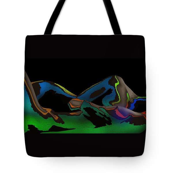 Tote Bag featuring the digital art Possession by Maciek Froncisz