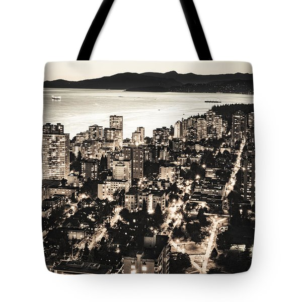 Passionate English Bay Mccclxxviii Tote Bag by Amyn Nasser