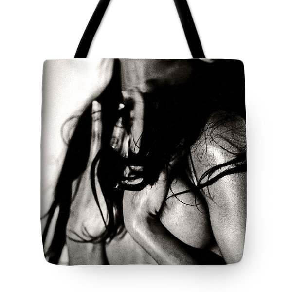 Tote Bag featuring the photograph Passionate African Nude Woman - Stone Town Editions by Amyn Nasser