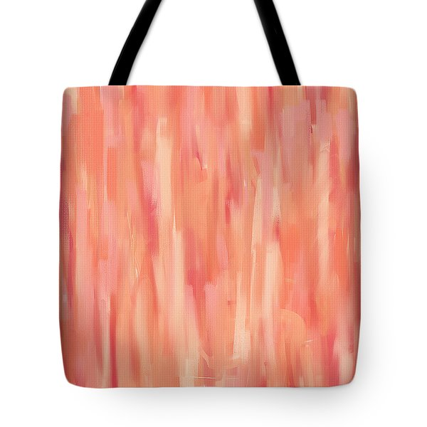 Passionate Peach Tote Bag