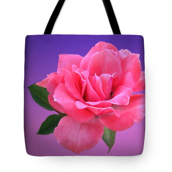 Tote Bag featuring the photograph Passionate Pink by Joyce Dickens