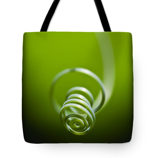 Passionflower Tendril Tote Bag