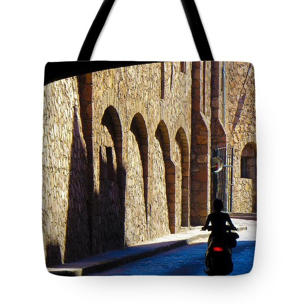 Past And Present Tote Bag by Douglas J Fisher