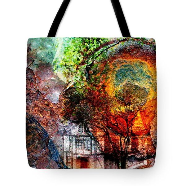 Past Or Future? Tote Bag by Ally  White