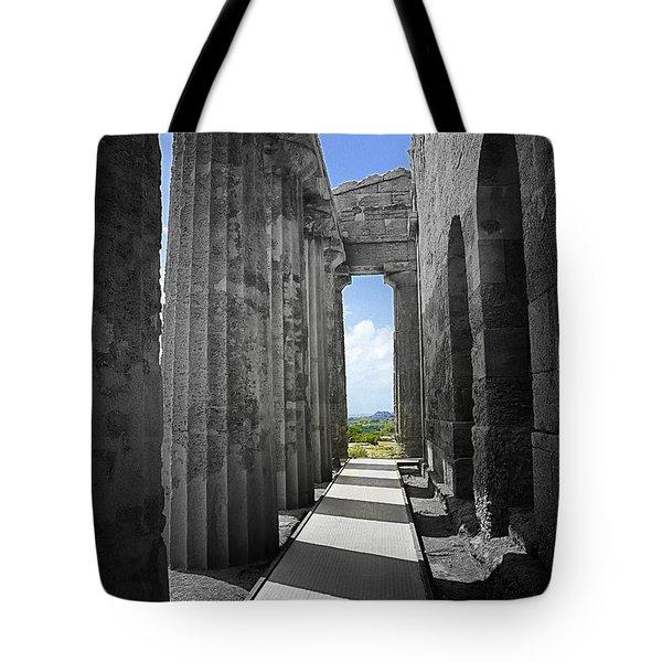 Past Present Tote Bag by Madeline Ellis