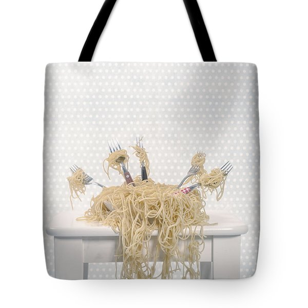 Pasta For Five Tote Bag by Joana Kruse
