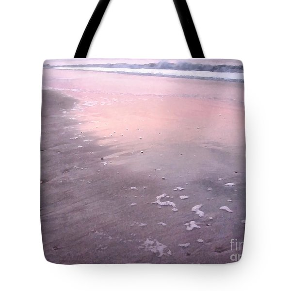 Tote Bag featuring the photograph Pastel Beach by Todd Blanchard