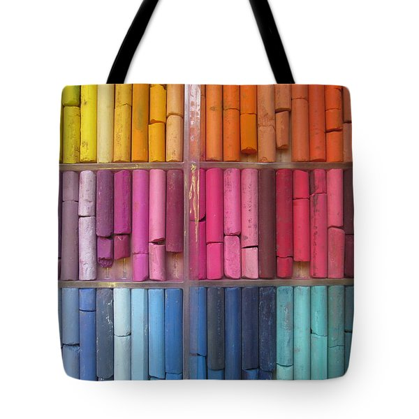 Pastel Color Tote Bag